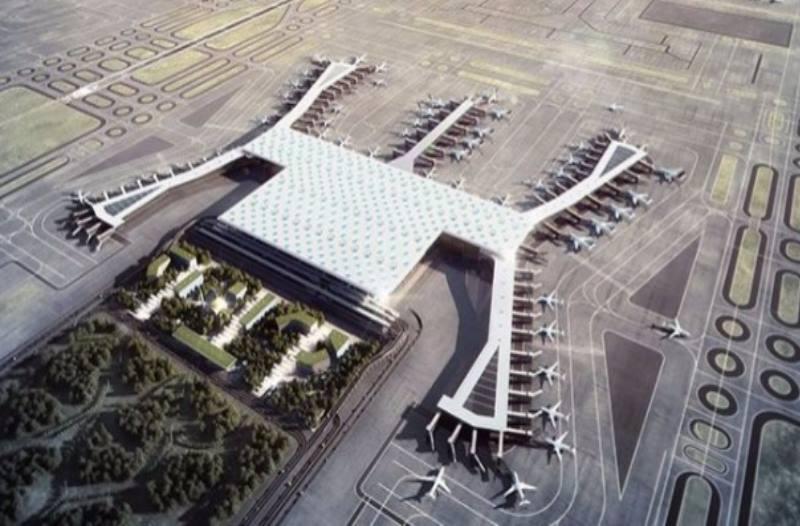 Конструкция комплекса предполагает работу 4 огромных терминалов