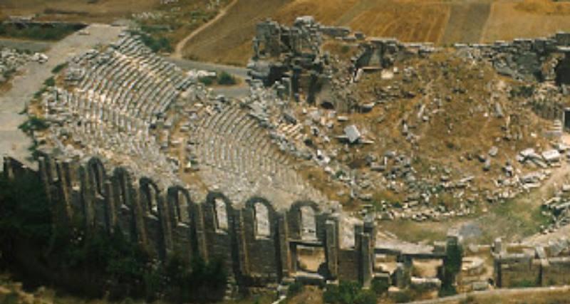 центр древнего города, его основная часть