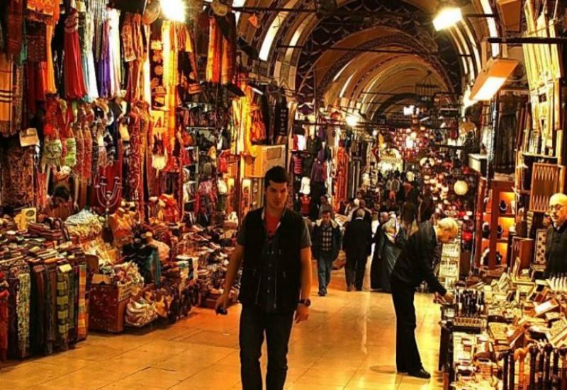 самый крупный крытый рынок в Турции