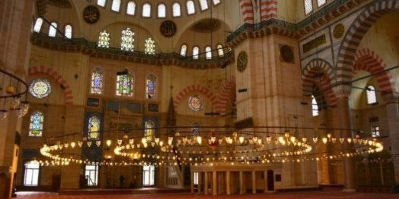 убранство мечети