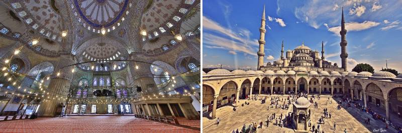2 фото мечети султанахмет
