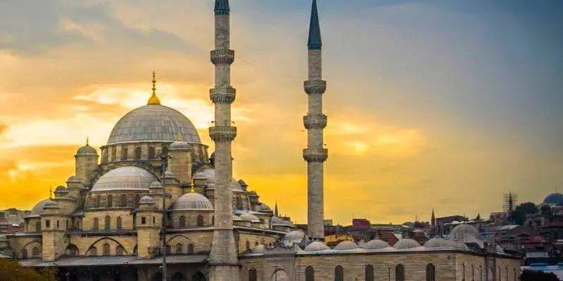 мечеть на заре