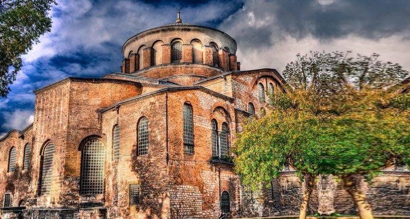 церковь Святой Ирины никогда не использовалась как мечеть