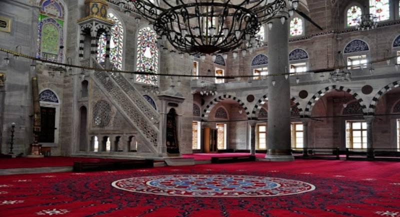 мечеть изнутри