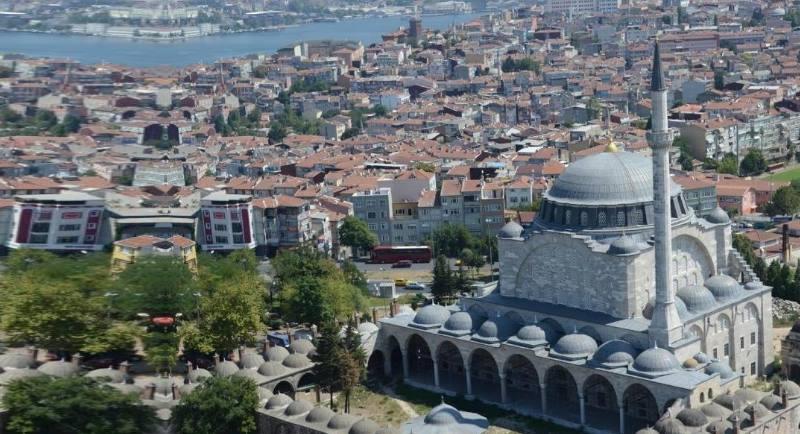 мечеть с высоты