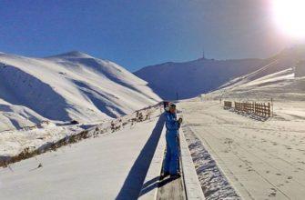 8 синих трасс (для новичков и не имеющих большого опыта лыжников),